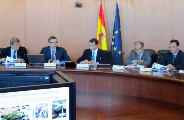 131112 Comité Autoridades Competentes demarcación Tajo,_tcm7-306806_noticia