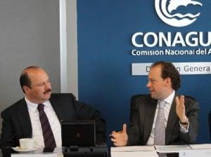 El gobernador del estado, Céar Duarte y el titular de la Comisión Nacional del Agua (Conagua), David Korenfeld Federman se reunieron para trabajar de manera coordinada a fin de aprovechar de mejor manera los recursos del presupuesto 2013.