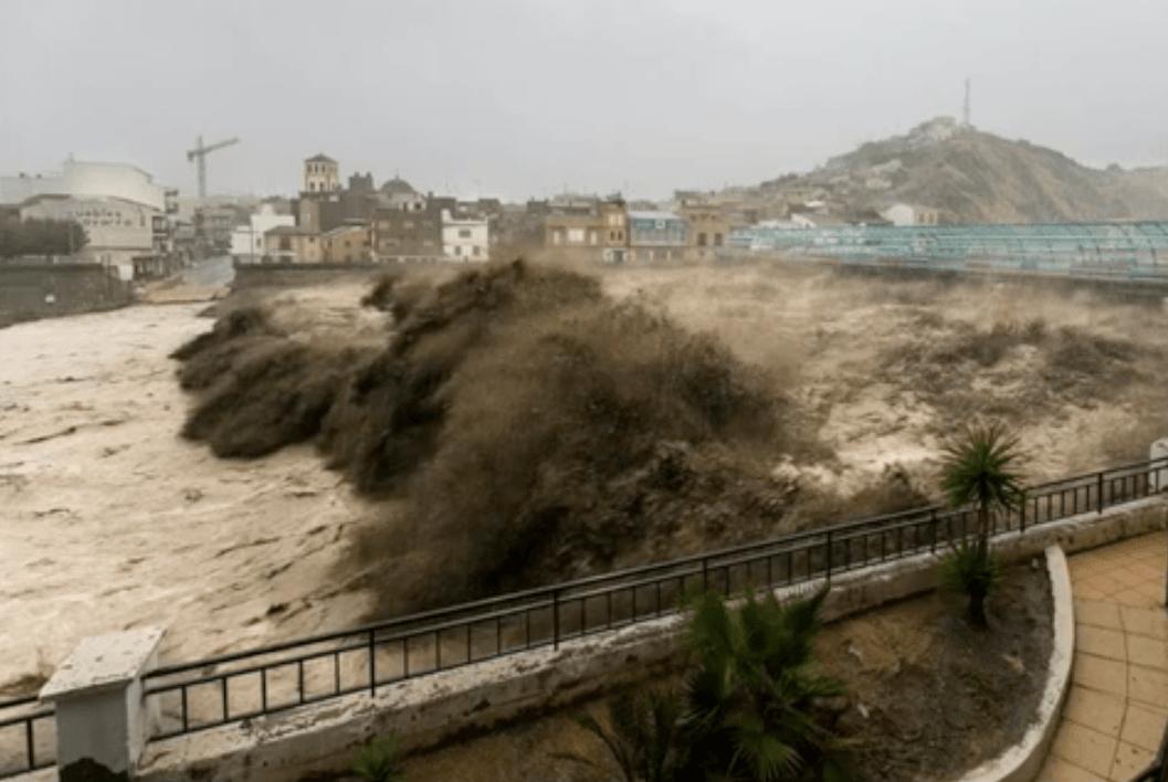 Rambla de Nogalte (Puerto Lumbreras - Murcia), el 28 de septiembre de 2012