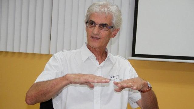 Stefan Sennewald, coordinador del Programa de Asistencia Técnica en Agua y Saneamiento de la Sociedad Alemana para la Cooperación Internacional. MANUEL ESQUIVEL/END