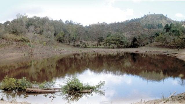 """Nueva Segovia viene experimentando en algunas zonas la """"cosecha"""" de agua. Aquí una muestra. LEONCIO VANEGAS/ END"""