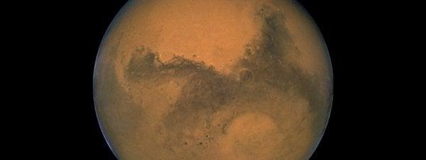 Imagen de Marte captada por el telescopio Hubble en agosto de 2003 AP/Nasa
