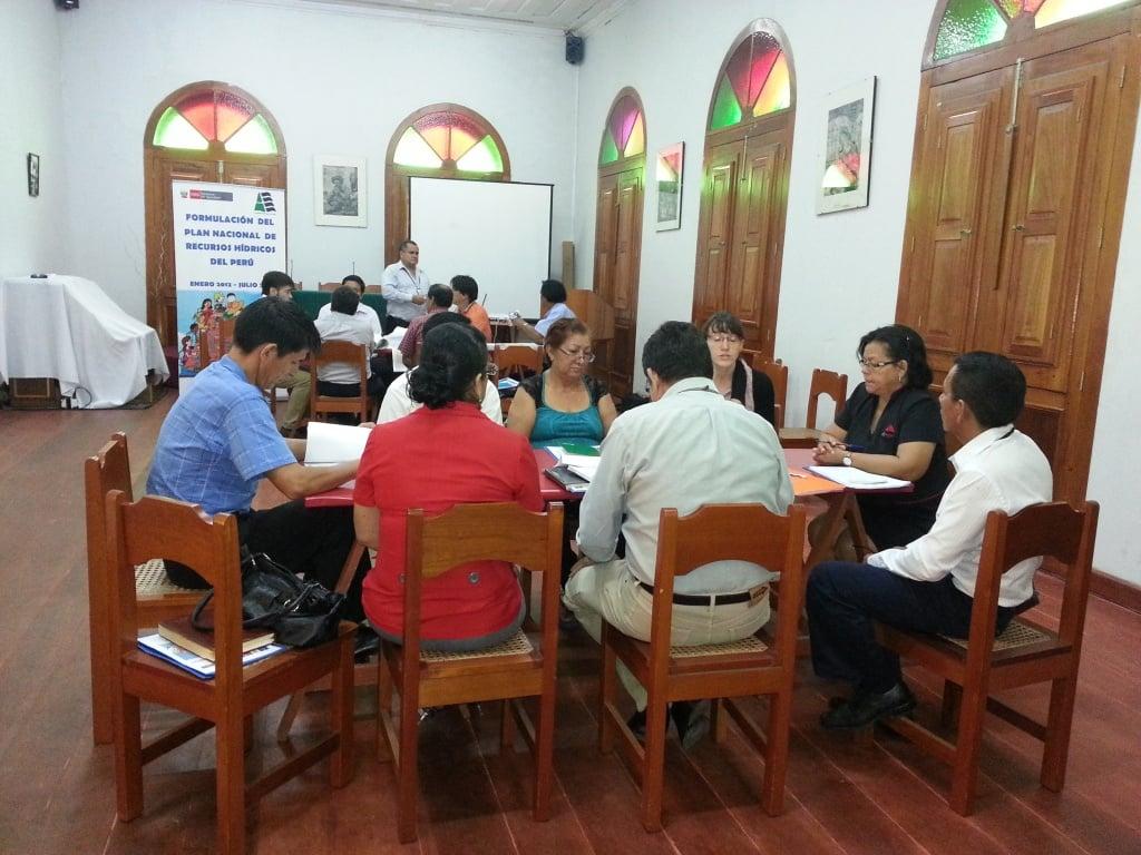 En el taller participan especialistas SEDA Loreto, INIA, Direcciones Regionales de Agricultura, Vivienda y de la Producción, IIAP y de la Municipalidad de Punchana.