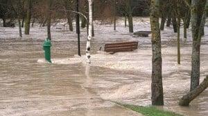 Los accesos a Pamplona por el norte se están viendo afectados