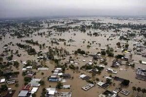 De 1999 a 2007 Tabasco vivió severas inundaciones. / Foto: Internet.