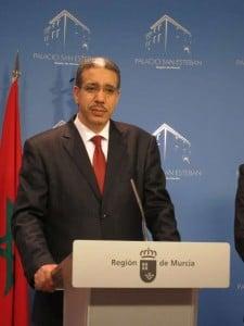 El ministro de Equipamiento y Transportes de Marruecos, Aziz Rabbah. Foto: EUROPAPRESS