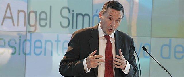 El presidente ejecutivo de Agbar, Ángel Simón (Efe)