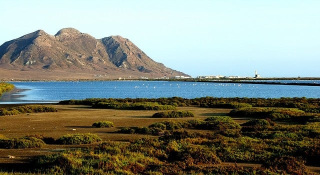 Salinas de Cabo de Gata en Almería.