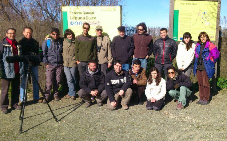 Participantes del GL SEO-Córdoba en el Día Mundial de los Humedales 2013