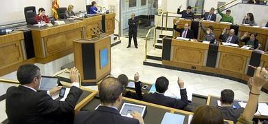 Pleno Diputación de Alicante. Foto: Diario Las Provincias