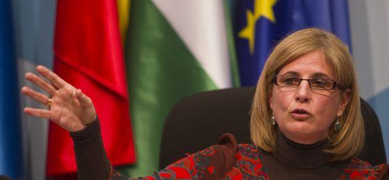 La alcaldesa de Jerez, María José García Pelayo