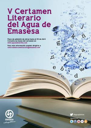 Cartel V Concurso Literario