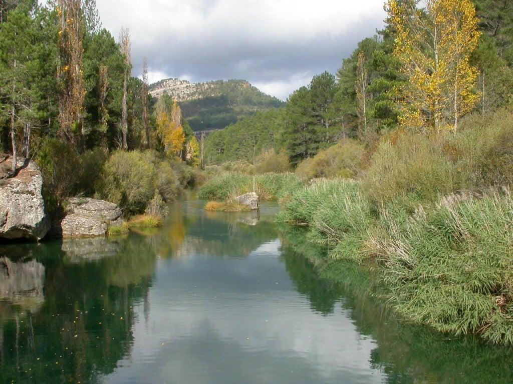 Rio Tajo desde la pasarela de Poveda 3-1