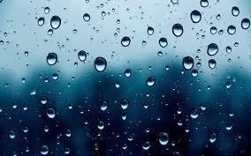 gotas lluvia