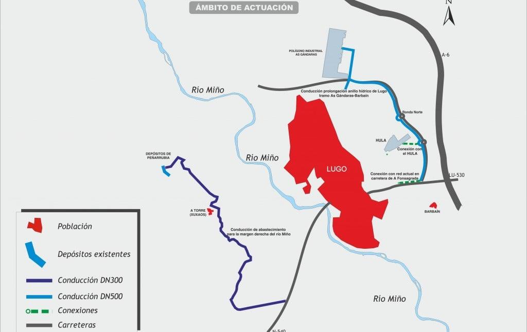 Ampliación Abastecimiento Agua Lugo
