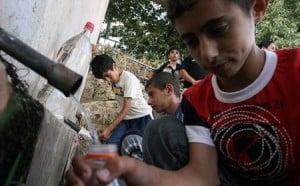 Isarel limita consumo de agua de los palestinos en su propio territorio. (Foto: www.palestinalibre.org)