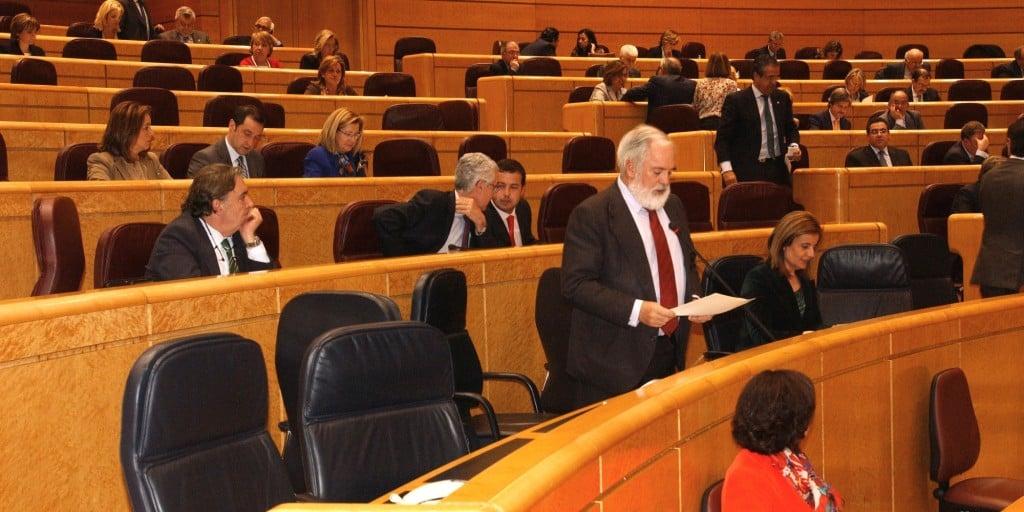 Arias Cañete en el Senado 1n_tcm7-224139