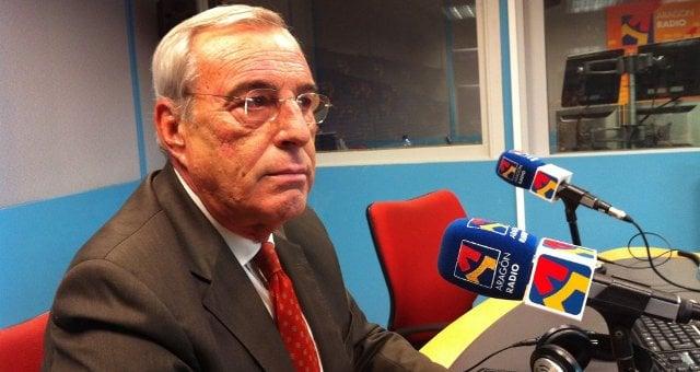 Alfredo Cajal, Director del Instituto Aragones del Agua. Fuente: Aragon Radio 2