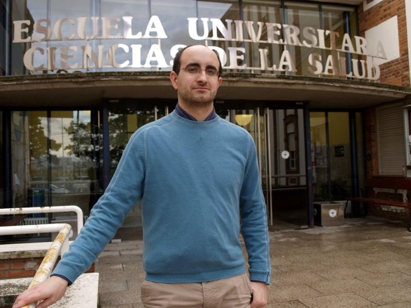 Antonio José Molina, investigador de la Escuela Universitaria de Ciencias de la Salud de León.