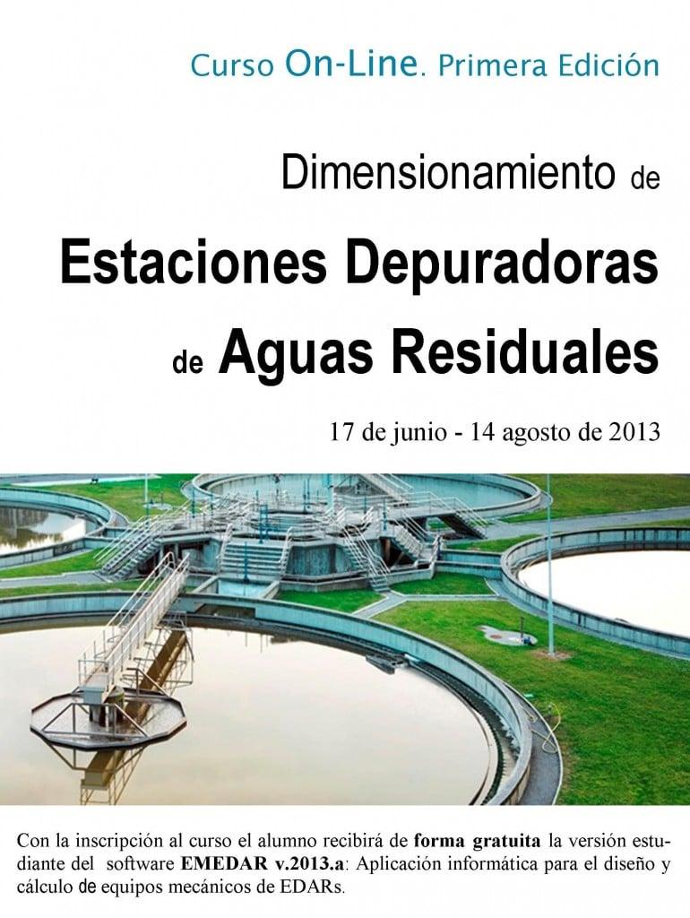 Curso online estaciones depuradoras de aguas residuales for Depuradora aguas residuales