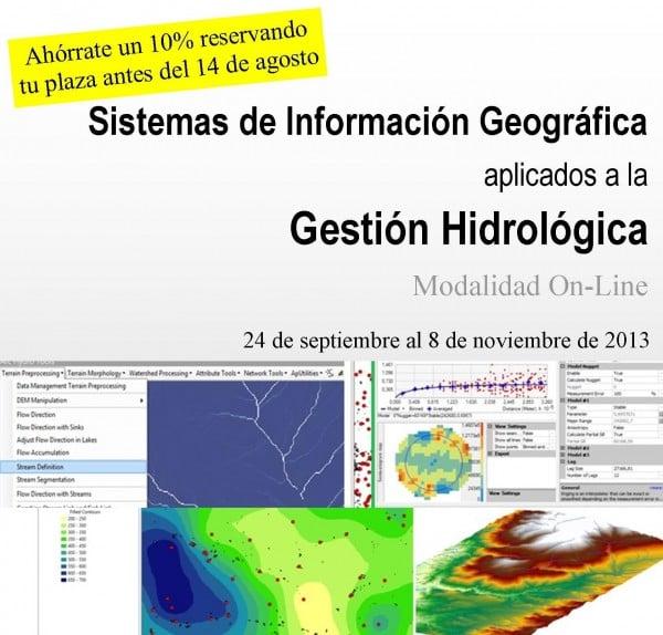SIG Aplicado a la Gestión Hidrológica (On Line)
