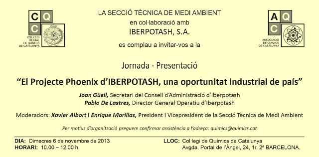 Jornada CQC-IBERPOTASH 6-11-13