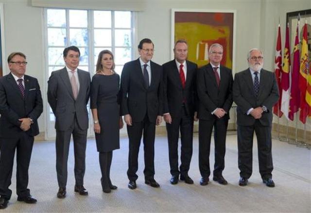 Rajoy Cañete y CCAA_tcm7-309821_noticia