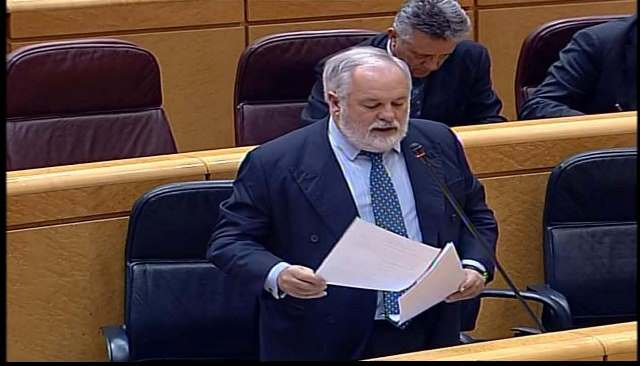 Arias Cañete, en el Senado_tcm7-319810_noticia