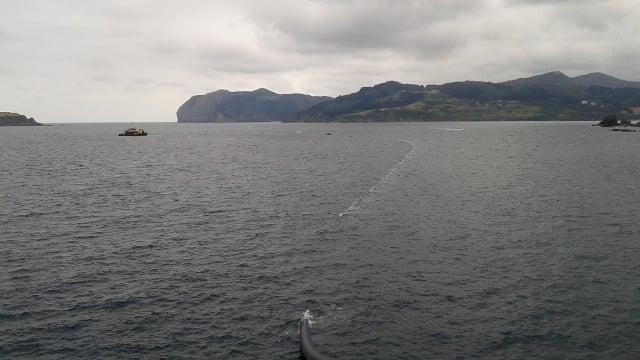150717 Instalación tubería emisario submarino depuradora Lamiaren, Vizcaya,2b