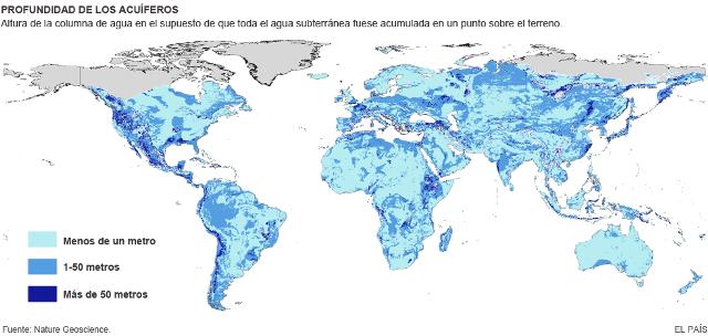 mapa profundidad acuiferos