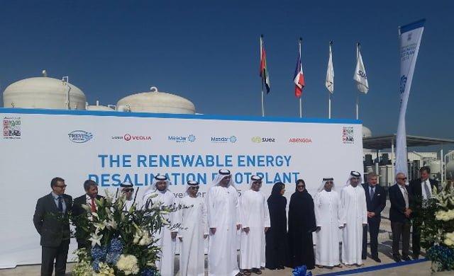 Desalación de Agua con Energías Renovables de MASDAR
