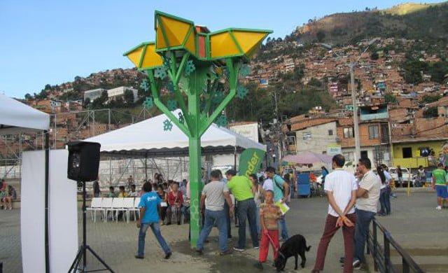 Una orquídea gigante para potabilizar agua