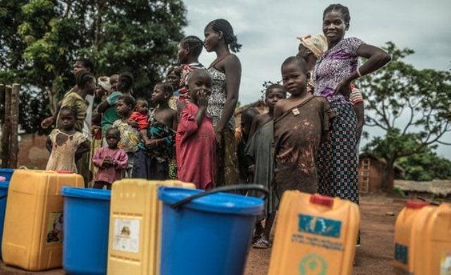 la guerra del agua en centroafrica