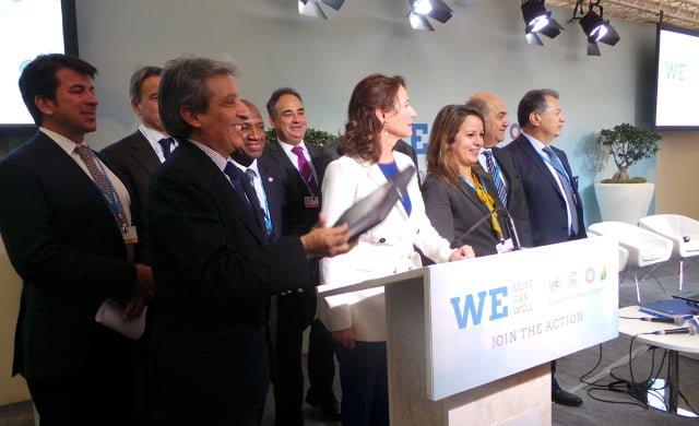 Pacto Agua y Cambio Climático, COP