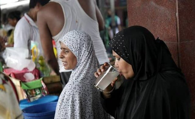 agua en la india