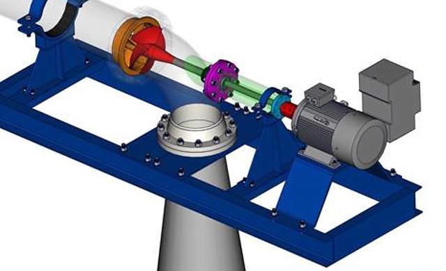 nueva turbina hidráulica