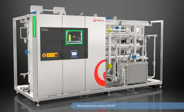 Instalación para la producción y distribución de agua