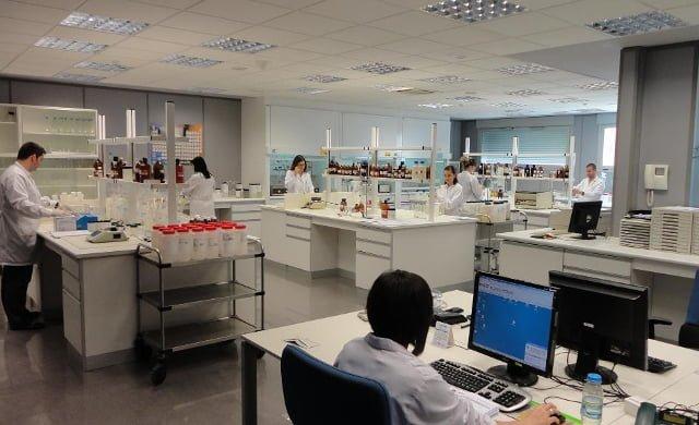 Laboratorios Alfaro instalaciones
