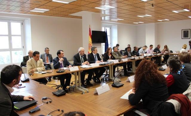 Visita europarlamentarios planificación hidrológica
