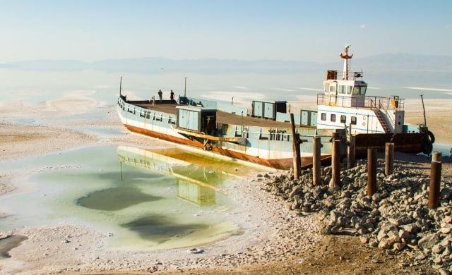 El lago Urumiá