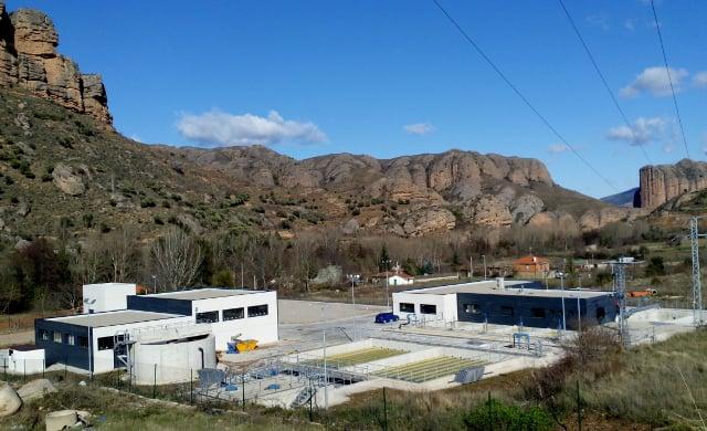 Estación de tratamiento de aguas de la Viguera