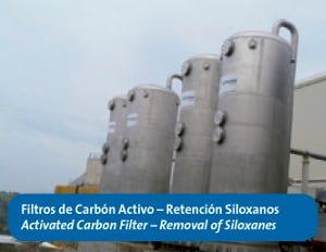Filtros de carbono activo