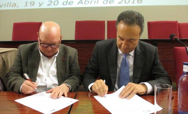 Firma acuerdo AGA y FITAG-UGT