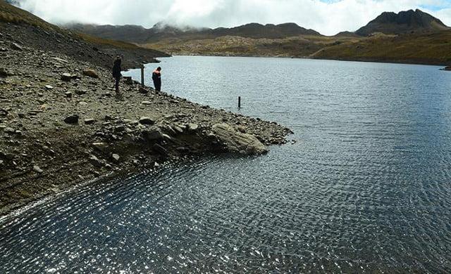 La represa de Escalerani