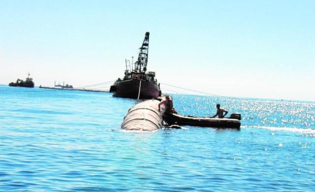 instalacion emisario submarino