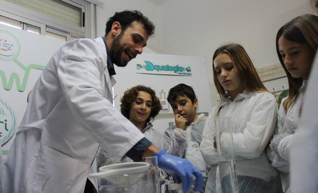 campaña de educación medioambiental Aqualogía