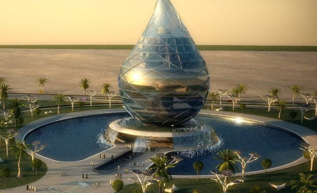 water-building