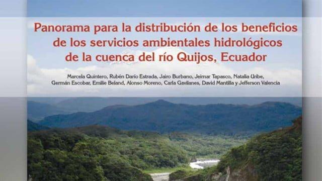 servicios ambientales-hidrologicos-ecuador